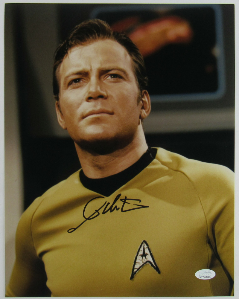 "William Shatner Signed ""Star Trek"" 11x14 Photo (JSA Hologram) at PristineAuction.com"