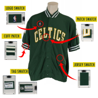 LARRY BIRD 1987-88 GAME-WORN SHOOTING SHIRT JERSEY SWATCH MYSTERY BOX at PristineAuction.com