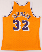 Magic Johnson Signed Lakers Jersey (Schwartz Sports COA) at PristineAuction.com