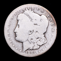 1884-CC Morgan Silver Dollar at PristineAuction.com