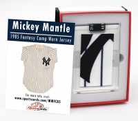 MICKEY MANTLE 1980'S CAMP-WORN YANKEES JERSEY SWATCH MYSTERY BOX at PristineAuction.com