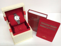 Omega Seamaster Women's Wristwatch with Box & Papers at PristineAuction.com