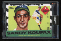 Sandy Koufax 2020 Topps Project 2020 #2 at PristineAuction.com