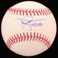 "Mark McGwire Signed OML Baseball Inscribed ""583 HR's"" (MLB Hologram) at PristineAuction.com"
