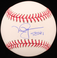 "Mark McGwire Signed OML Baseball Inscribed ""583 HR's"" (MLB Hologram) at PristineAuction.com"