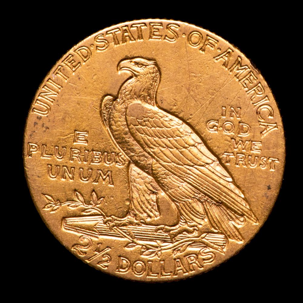 1909 quarter eagle coin