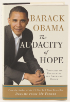 "Barack Obama Signed ""The Audacity of Hope"" Hard-Cover Book (Beckett LOA) at PristineAuction.com"