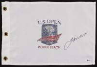 Gary Woodland Signed 2019 Pebble Beach U.S. Open Pin Flag (Beckett COA) at PristineAuction.com