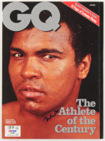 "Muhammad Ali Signed ""GQ"" Magazine (PSA COA) at PristineAuction.com"