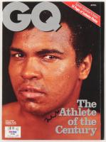 "Muhammad Ali Signed ""GQ"" Magazine (PSA COA) at PristineAuction.com"