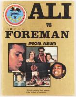 "Muhammad Ali Signed ""Ali vs. Foreman"" Program Inscribed ""12-7-88"" (PSA COA) at PristineAuction.com"