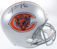 Khalil Mack Signed Bears Full-Size Helmet (JSA COA) at PristineAuction.com