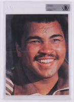 Muhammad Ali Signed 7.5x10 Photo (BGS Encapsulated) at PristineAuction.com
