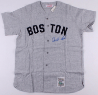 Carlton Fisk Signed Red Sox Jersey (PSA COA) at PristineAuction.com