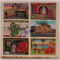 "Al Jardine, Mike Love & Brian Wilson Signed The Beach Boys ""L.A."" Vinyl Record Album Cover (PSA LOA) at PristineAuction.com"