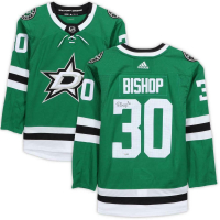 Ben Bishop Signed Stars Fanatics Jersey (Fanatics Hologram) at PristineAuction.com