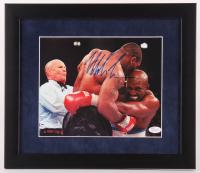 Mike Tyson Signed 13x15 Custom Framed Photo Display (JSA COA) at PristineAuction.com