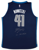 "Dirk Nowitzki Signed Mavericks LE Jersey Inscribed ""12x All NBA"" (UDA COA) at PristineAuction.com"