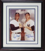 Roger Maris & Mickey Mantle Signed Yankees 13x16 Custom Framed Photo (PSA LOA) at PristineAuction.com