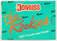 1991 Donruss The Rookies Complete Set with (56) Baseball Cards at PristineAuction.com