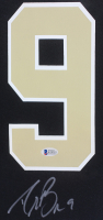 Drew Brees Signed Saints 35x43 Custom Framed Jersey Display (Beckett COA) at PristineAuction.com