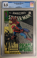 "1968 ""The Amazing Spider-Man"" Issue #65 Marvel Comic Book (CGC 3.5) at PristineAuction.com"