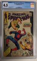 "1968 ""The Amazing Spider-Man"" Issue #57 Marvel Comic Book (CGC 4.5) at PristineAuction.com"