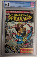 "1973 ""The Amazing Spider-Man"" Issue #126 Marvel Comic Book (CGC 6.5) at PristineAuction.com"