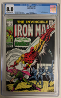"1969 ""The Invincible Iron Man"" Issue #10 Marvel Comic Book (CGC 8.0) at PristineAuction.com"