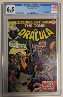 "1974 ""The Tomb of Dracula"" Issue #25 Marvel Comic Book (CGC 6.5) at PristineAuction.com"