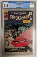 "1965 ""The Amazing Spider-Man"" Issue #22 Marvel Comic Book (CGC 3.5) at PristineAuction.com"