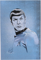 "Tony Santiago - Spock - ""Star Trek"" 13x19 Signed Lithograph (PA COA) at PristineAuction.com"
