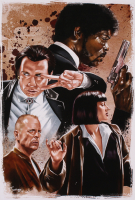 "Tony Santiago - ""Pulp Fiction"" 13x19 Signed Lithograph (PA COA) at PristineAuction.com"