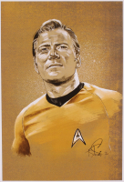 "Tony Santiago - Captain Kirk - ""Star Trek"" 13x19 Signed Lithograph (PA COA) at PristineAuction.com"