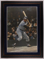 "Mickey Mantle Signed Yankees 32.5x44.5 1968 Sports Illustrated Poster Custom Framed Photo Display Inscribed ""536 HR's"" (Beckett LOA) at PristineAuction.com"
