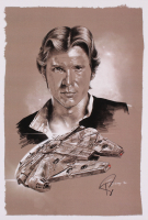 "Tony Santiago - Han Solo - ""Star Wars"" 13x19 Signed Lithograph (PA COA) at PristineAuction.com"