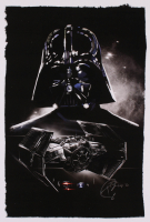 "Tony Santiago - Darth Vader - ""Star Wars"" 13x19 Signed Lithograph (PA COA) at PristineAuction.com"