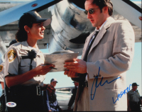 "John Cusack Signed ""Con Air"" 11x14 Photo Inscribed ""Larkin"" (PSA COA) at PristineAuction.com"