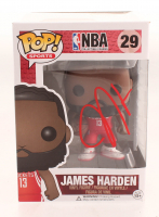 James Harden Signed NBA #29 Funko Pop! Vinyl Figure (Beckett COA) at PristineAuction.com