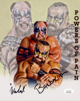 The Warlord & The Barbarian Signed WWE 8x10 Photo (JSA COA) at PristineAuction.com