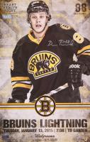 David Pastrnak Signed Bruins 11x17 Photo (Pastrnak COA) at PristineAuction.com