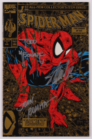 "Stan Lee, Todd McFarlane & John Romita Signed 1990 ""Spider-Man"" Issue #1 2nd Print Marvel Comic Book (JSA ALOA) at PristineAuction.com"