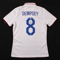 Clint Dempsey Signed Team USA Jersey (JSA COA & GSE COA) at PristineAuction.com