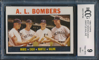 Roger Maris / Norm Cash / Mickey Mantle / Al Kaline 1964 Topps #331 AL Bombers (BCCG 9) at PristineAuction.com
