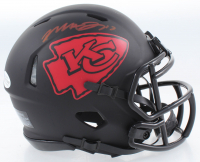 Mecole Hardman Signed Chiefs Eclipse Alternate Speed Mini Helmet (Beckett COA) at PristineAuction.com