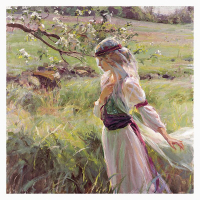 """Dan Gerhartz Signed """"Extending Grace"""" Limited Edition 24x24 Giclee on Canvas at PristineAuction.com"""