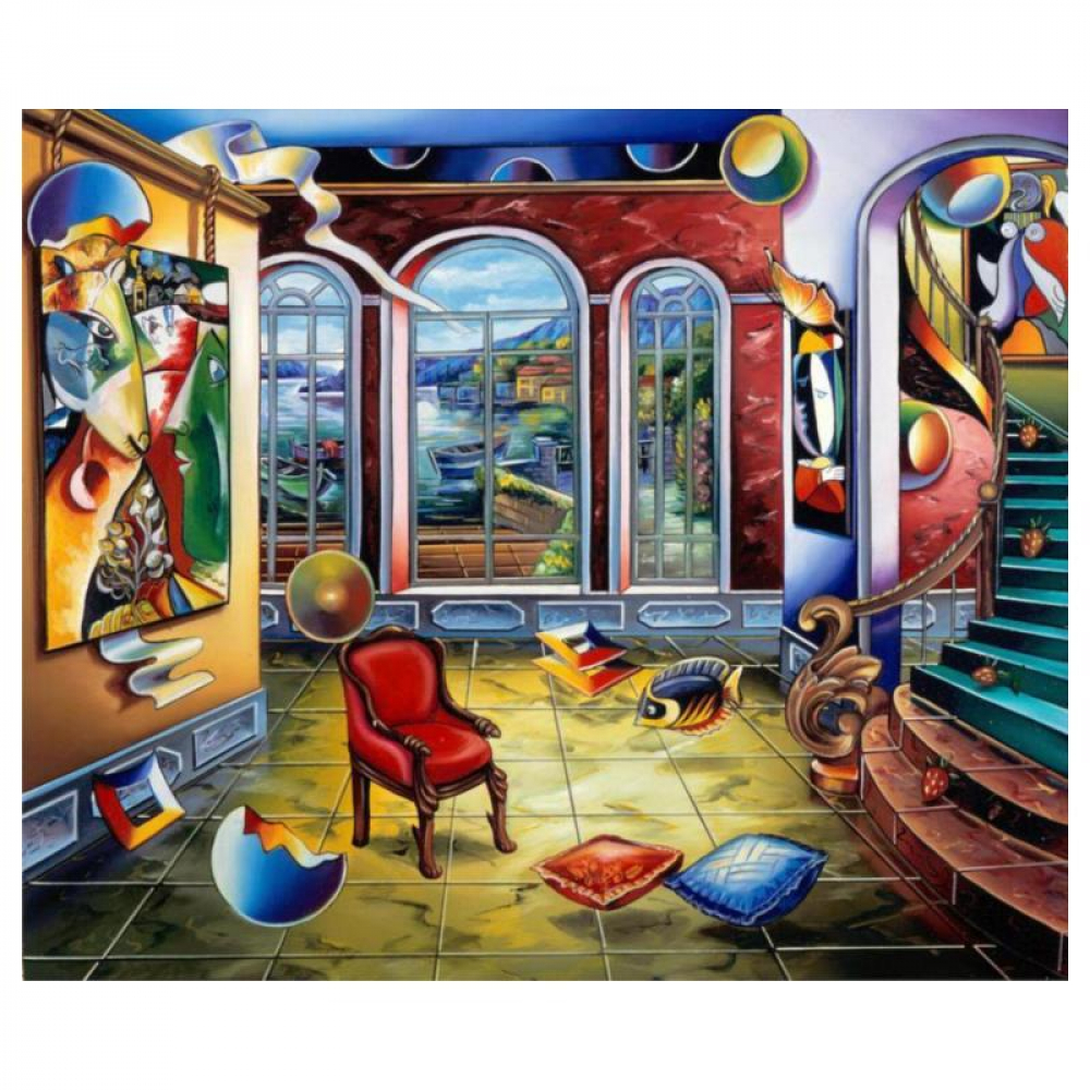 """Alexander Astahov Signed """"Master in Time"""" Limited Edition 20x24 Giclee on Canvas at PristineAuction.com"""