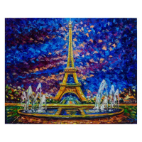 """Svyatoslav Shyrochuk Signed """"Paris View"""" Limited Edition 24x30 Giclee on Canvas at PristineAuction.com"""