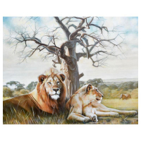 """Vera V. Goncharenko Signed """"Pride"""" Limited Edition 24x30 Giclee at PristineAuction.com"""