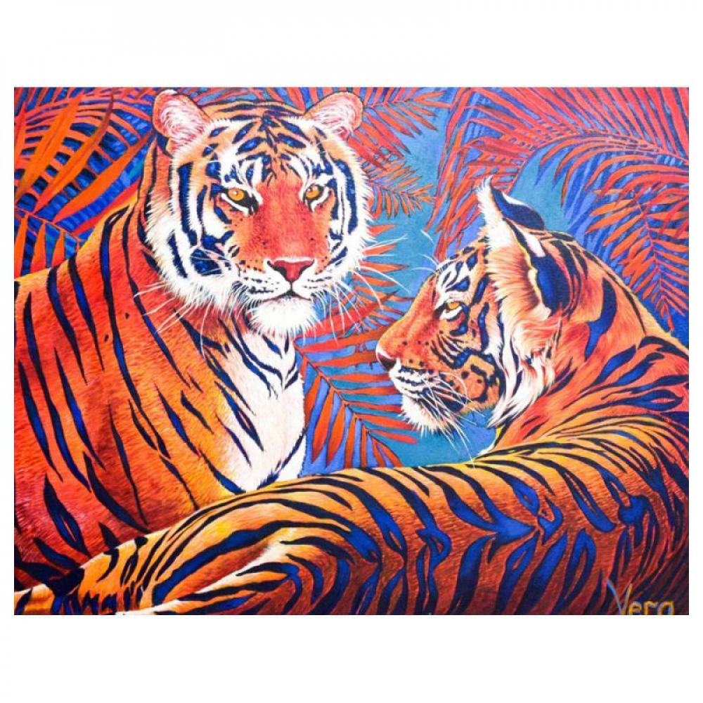 """Vera V. Goncharenko Signed """"Camouflage"""" Limited Edition 24x30 Giclee at PristineAuction.com"""